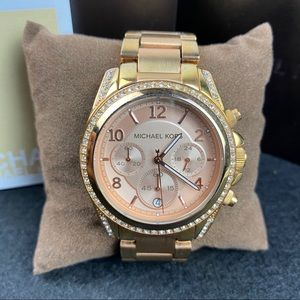 Michael Kors rose gold watch MK5263